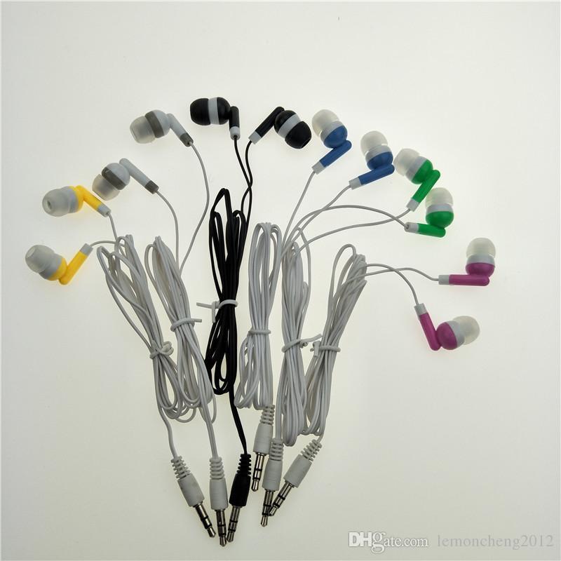 All'ingrosso auricolari all'ingrosso auricolari auricolari MP3 / MP4 / cellulare universale / tablet PC i