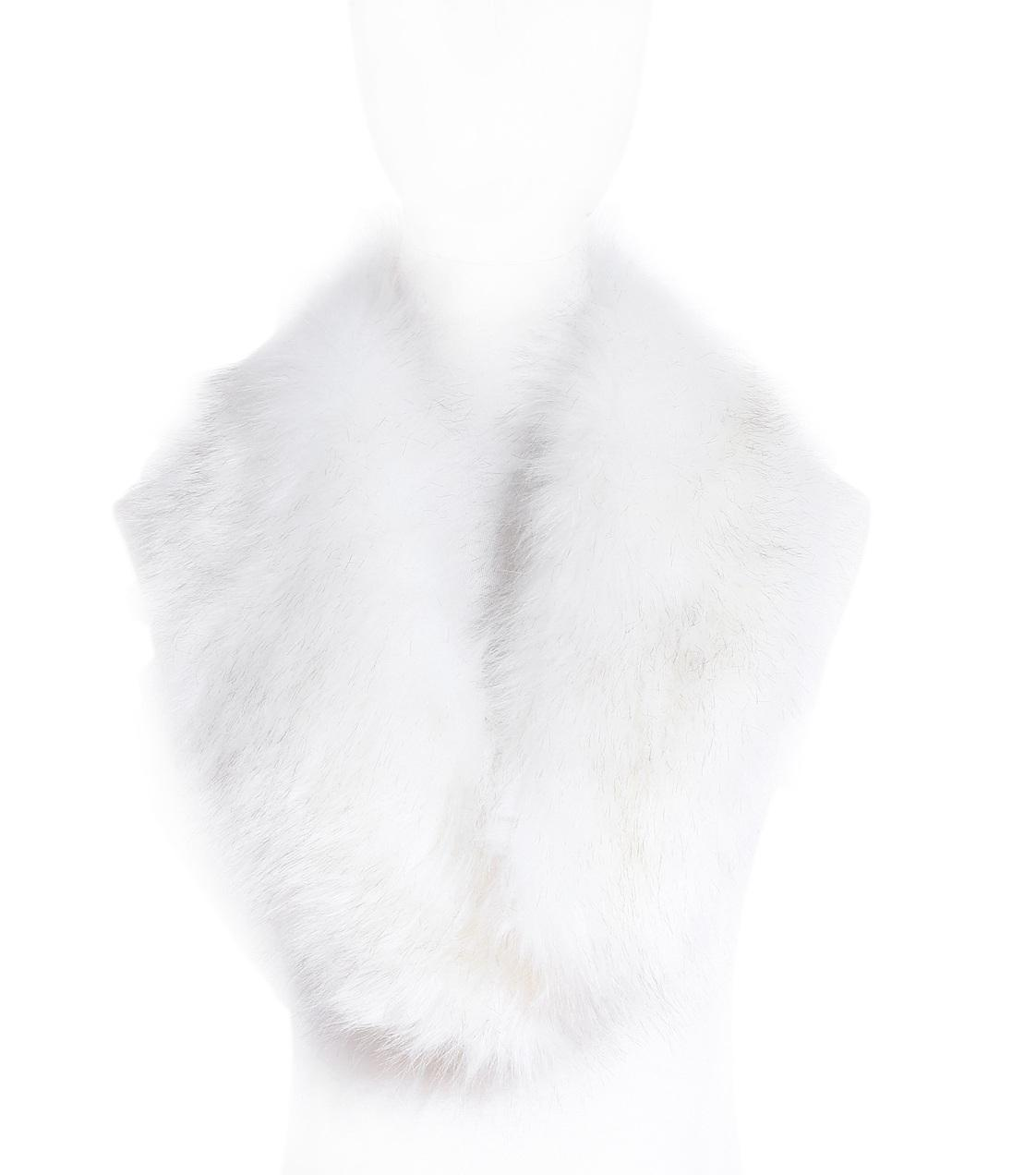 7 Farben Frauen Faux Pelz Schal Winter warm Schwarz Weiß Natur Mädchen Kragen Wrap Halswärmer Schals