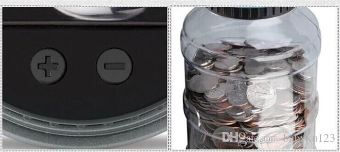 New Creative Digital Money Box Electronic USD Coin Counter Piggy Bank Money Saving Jar Gift With LCD Screen Y087
