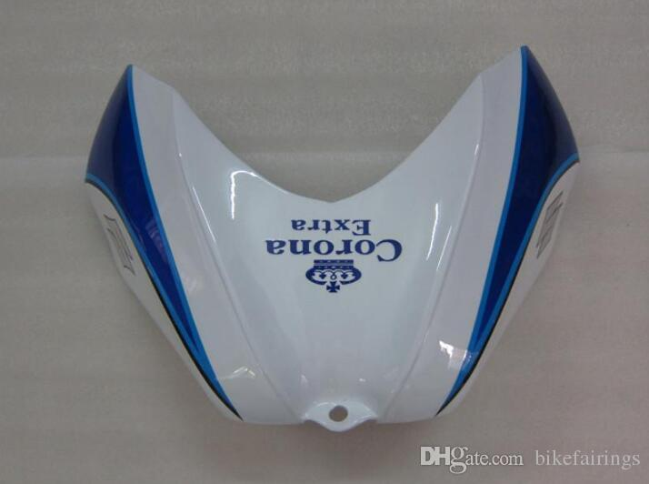 Regalos gratis + Asiento de la capucha Nuevos kits de carenado para SUZUKI GSXR 600 750 K6 06 07 GSXR-600 GSXR750 GSXR600 GSX R600 R750 06 07 2006 2007 blue corona