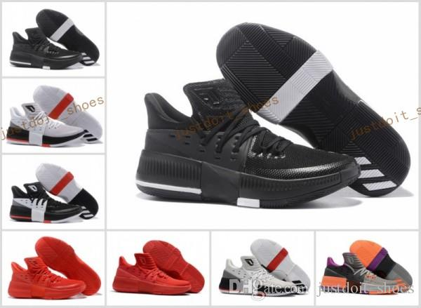 bfd3ec90ffae Bounce Techifit Lillard Dame 3 Basketball Shoes AAAA High Qulity Roots CNY  Rip City Wholesale Man Sizes USA 7 12 Sneaker New Discuont Shaq Shoes Kd ...