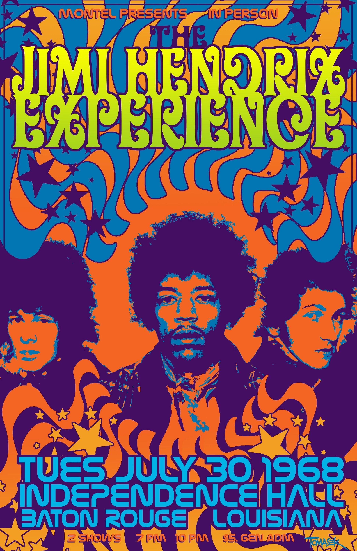 Jimi Hendrix Custom Hd Home Decor Retro Classic Vintage Movie Poster Print 50x75cm Wall Sticker Ko 368777 Wallpaper On Online From Littleman913