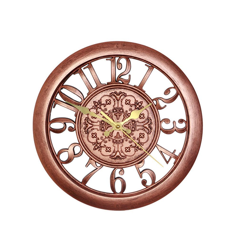6c447717a Wholesale Wall Clock Absolutely Mute Quartz Digital Vintage Metal Retro  Roman Numerals Living Room Modern Wall Decorations Watches HG0226 Art Deco  Wall ...