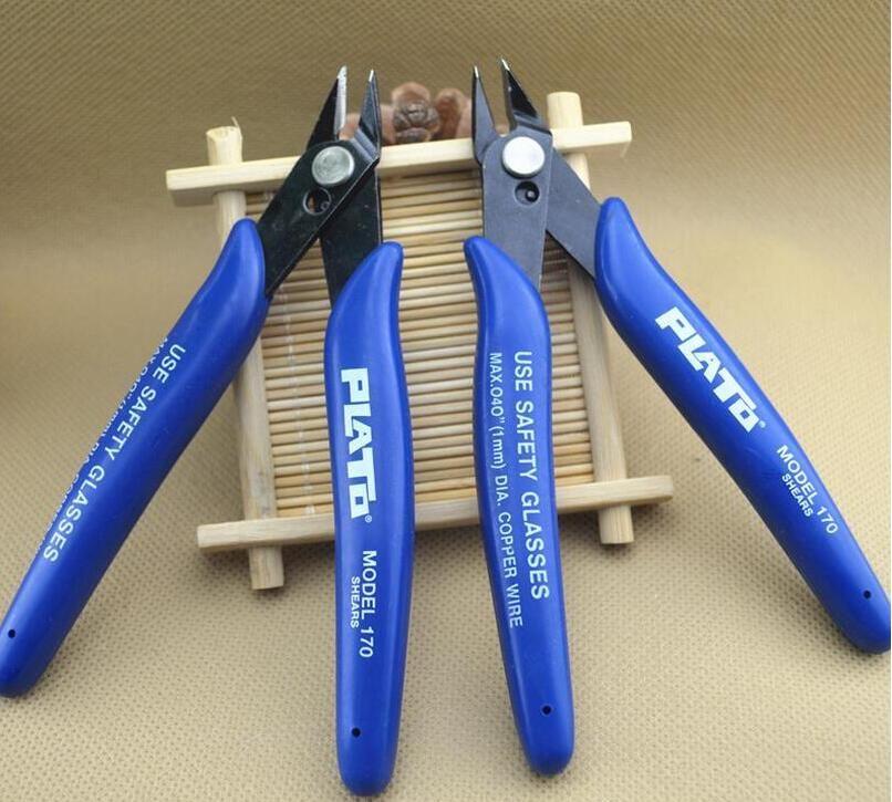 DHLPlato libre 170 Cortador de Descarga de Alambre Cortador Nipper Mini Alicates Clamp Cutting Shears Tool Para DIY RDA bobina de calefacción mecha atomizador reconstruible