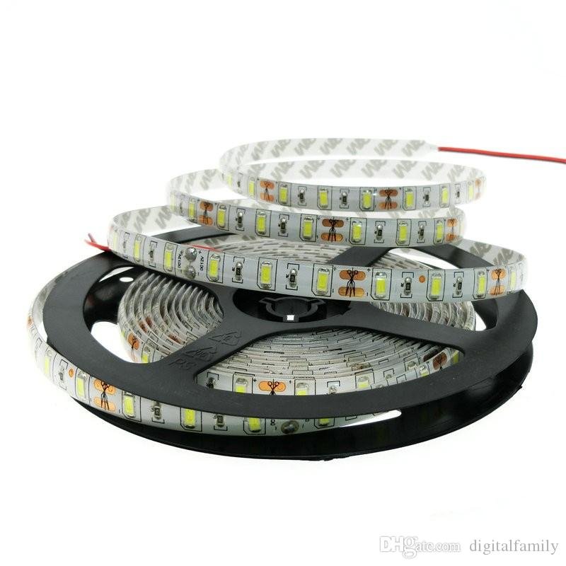 LED Strip Light Reinweiß 5M Bright Ultra-White 5050 SMD warmweiß rot blau Wasserdicht Flexible 300 LEDs DC 12V Auto
