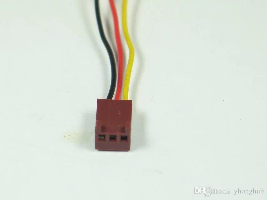 Бесплатная доставка для EVERFLOW R126010DL DC 12 в 0.10 a 3-проводной 3-контактный разъем 70 мм 60x60x10mm сервер квадратный вентилятор охлаждения