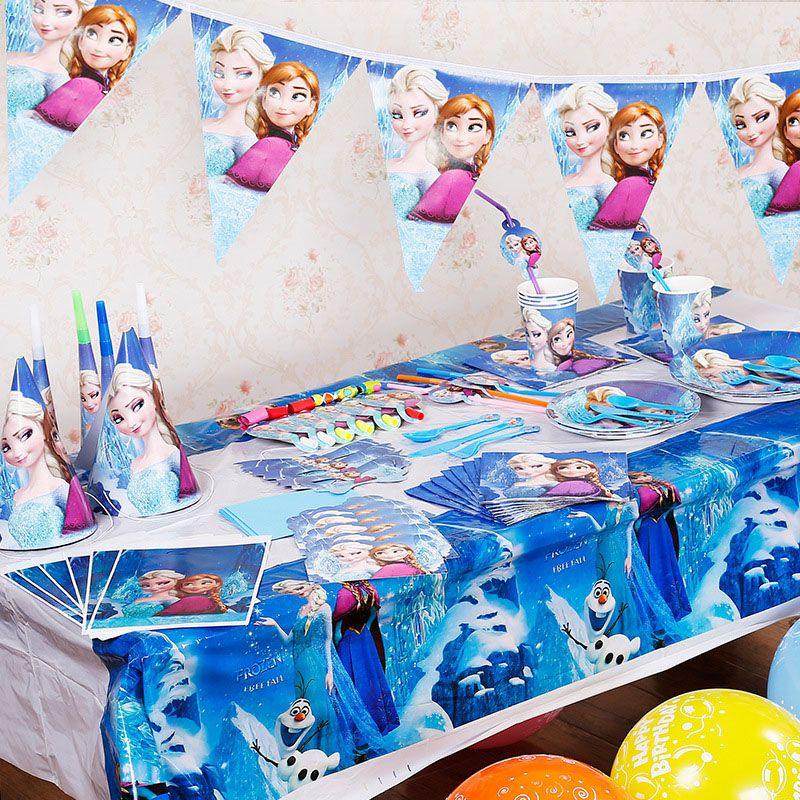 Kids Banner Kit Birthday Decoration Set Theme Party Supplies Baby Pack Flag Decor Garden Wedding Ideas