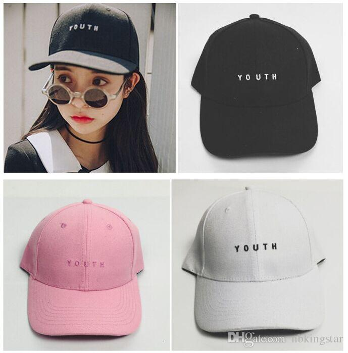 53cddbad34b Unisex Letters Youth Embroidery Baseball Cap Dad Hats Fashion Snapback Hat  Stylish Hip Hop Caps Solid Color Mesh Hats Superman Cap From Nbkingstar
