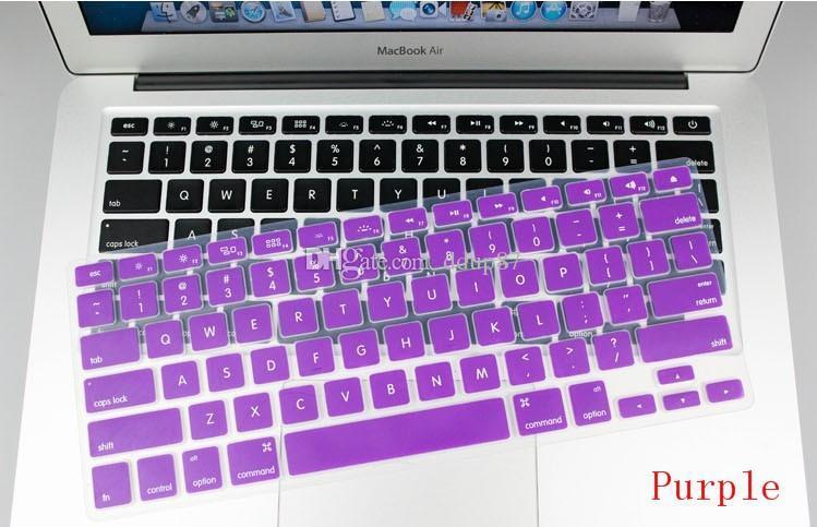 Cover tastiera in silicone MacBook Air Pro 13/15/17