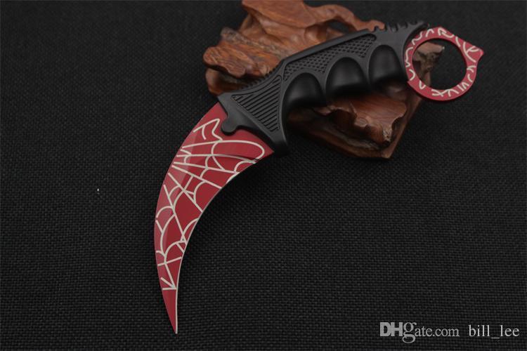 OEM karambit G10 handle folding knives cs go claw knife survival gear pocket knife hunting knife Trainer and Sharp knives