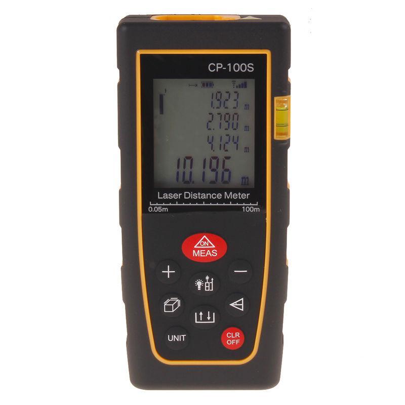 Handheld 100m / 328FT Digitale LCD Laser Afstandsgebied Measer Meter Range Finder