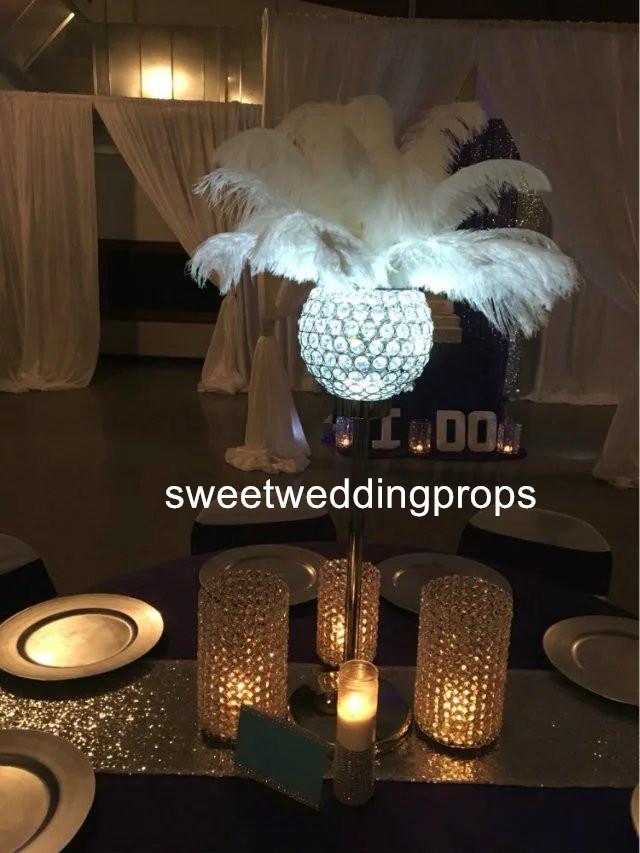 Antique Wedding Flower Glass Vase table centerpieces