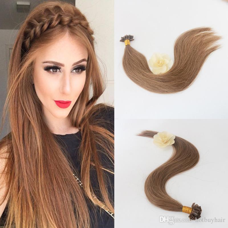 10a Hot Sale Best Brazilian U Tip Hair Extension 50grams 50s Color