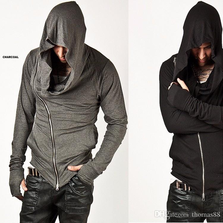 Wholesale Men Hoodies Hop Streetwear Zipper Fashion Sweatshirt Men's Tracksuit Men Assassins Creed Hoodies