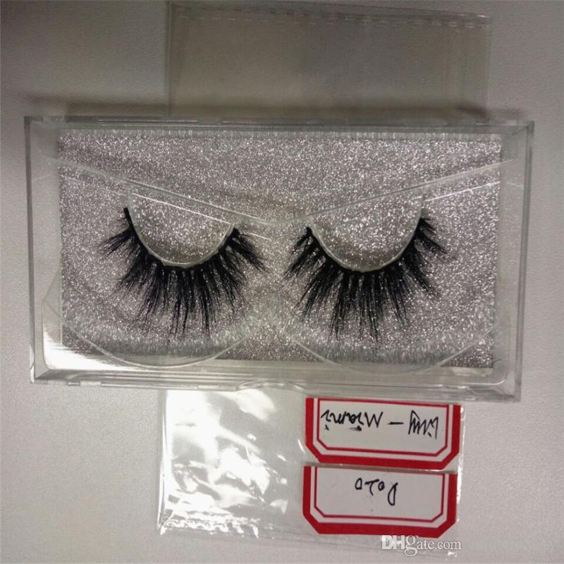 Cheap price High Quality 3D Natural Bushy Cross False Eyelashes Mink Hair Handmade Eye Lashes Strengthen Fake Eyelash