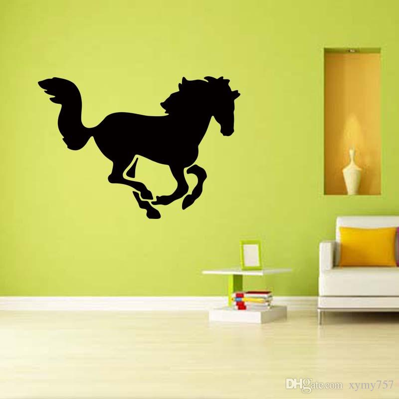 New Product For Horse Sport Vinyl Wall Art Graphics Removable Sticker Decal Bedroom Sitting Room Diy