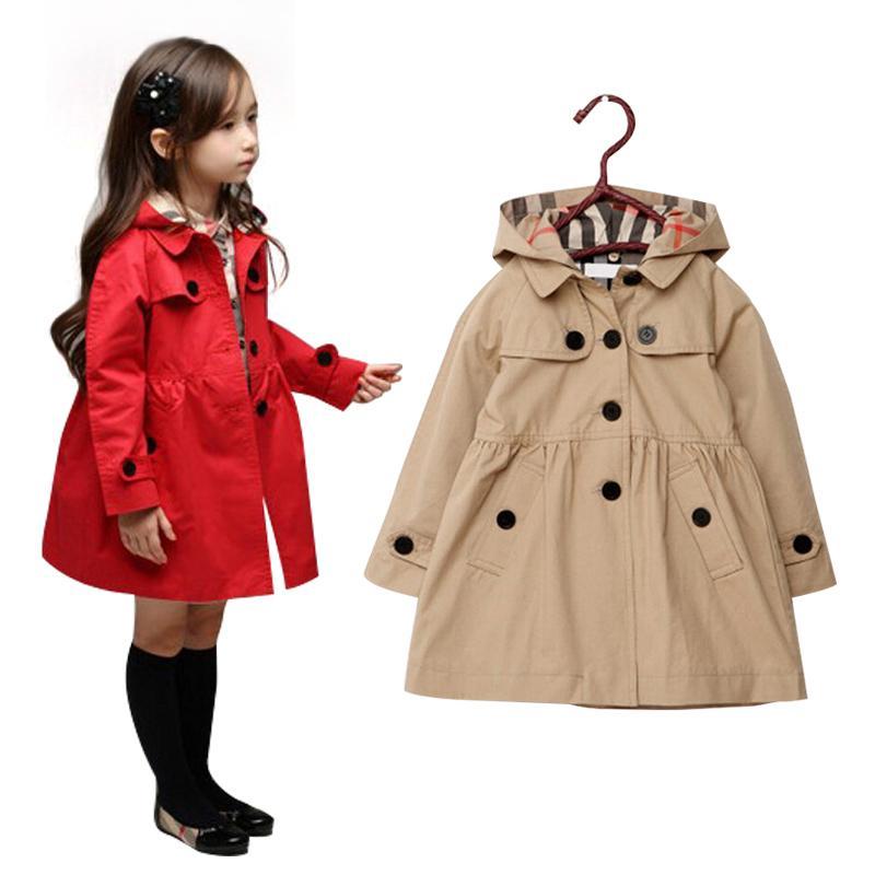 3 10yrs Autumn/Winter Girl Jacket Coat European Fashion Girl ...