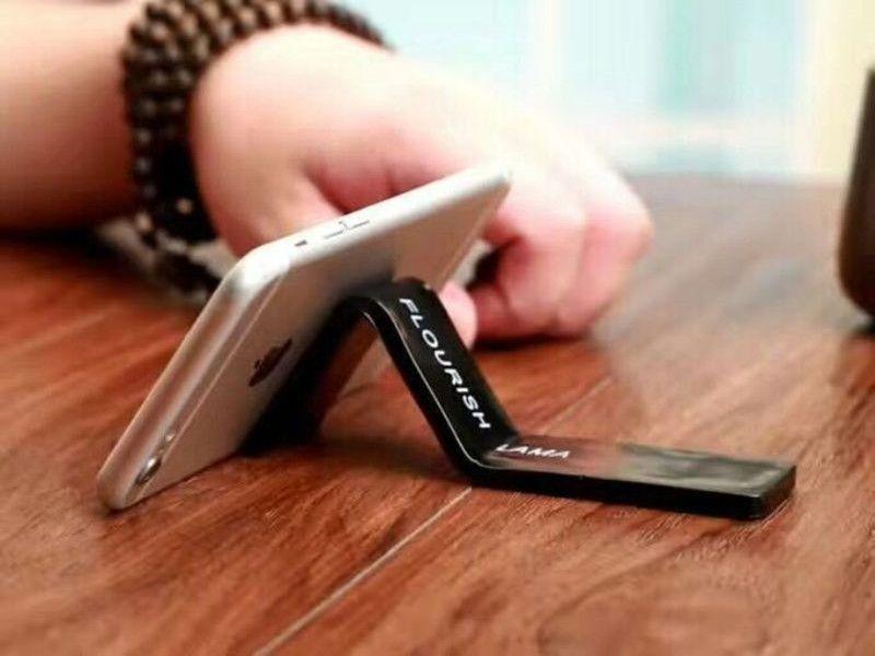 FLOURISH LAMA Держатель сотового телефона Мощная сильная наклейка может быть неоднократно очищена Новое прибытие фабрики Оптовая OPP сумка DHL