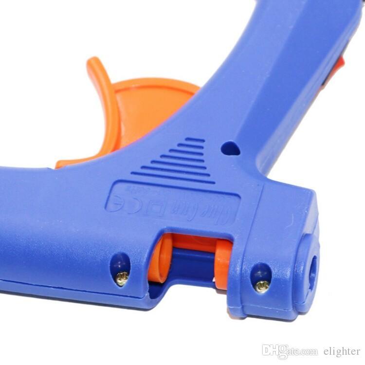 20W UE / EE. UU. Plug Hot Melt Pistola de Pegamento con Envío Gratis Stick Stick Industrial Mini Guns Thermo Herramienta de Temperatura Térmica Eléctrica