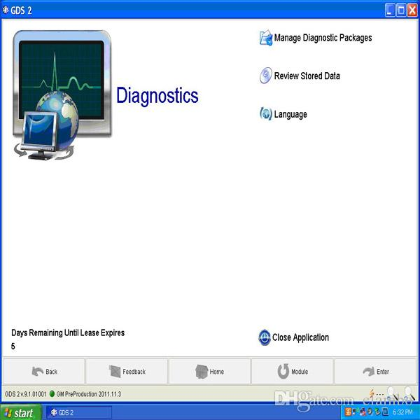 For GM Auto Scanner Multiple Interface MDI GM MDI with software Car diagnostic tool Work with TECH