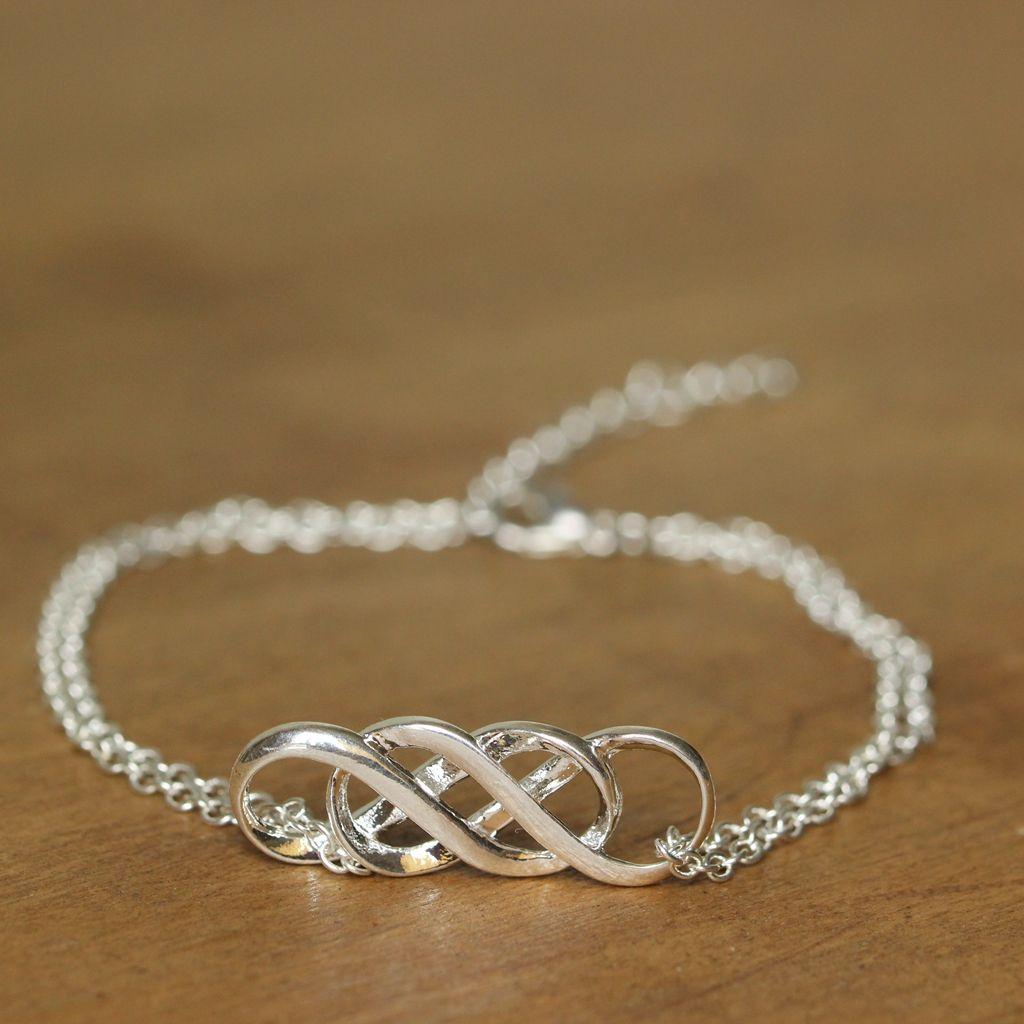 Bracelet infini double