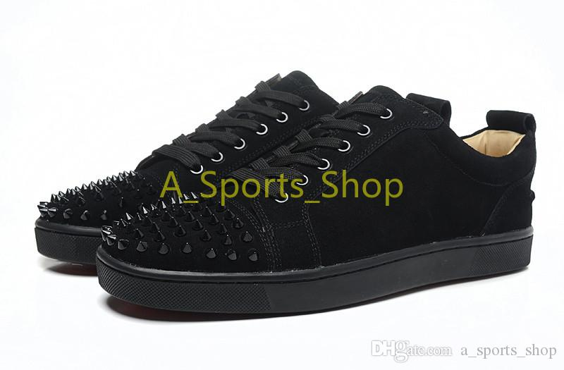 High-end custom metal studded spikes casual shoes 2018 new for men and women low top sneakers with soft bottom,genuine leather size:36-46