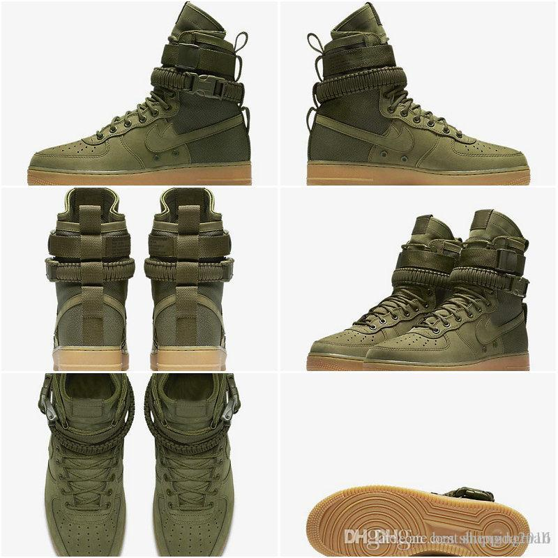 2019 New Men Women High Air Force 1 SF AF1 Running Shoes Fashion Unisex  Special Field Forces Urban Utility Boots Sneakers Sports Shoes From  Bestshoppingmall ... db13a3833
