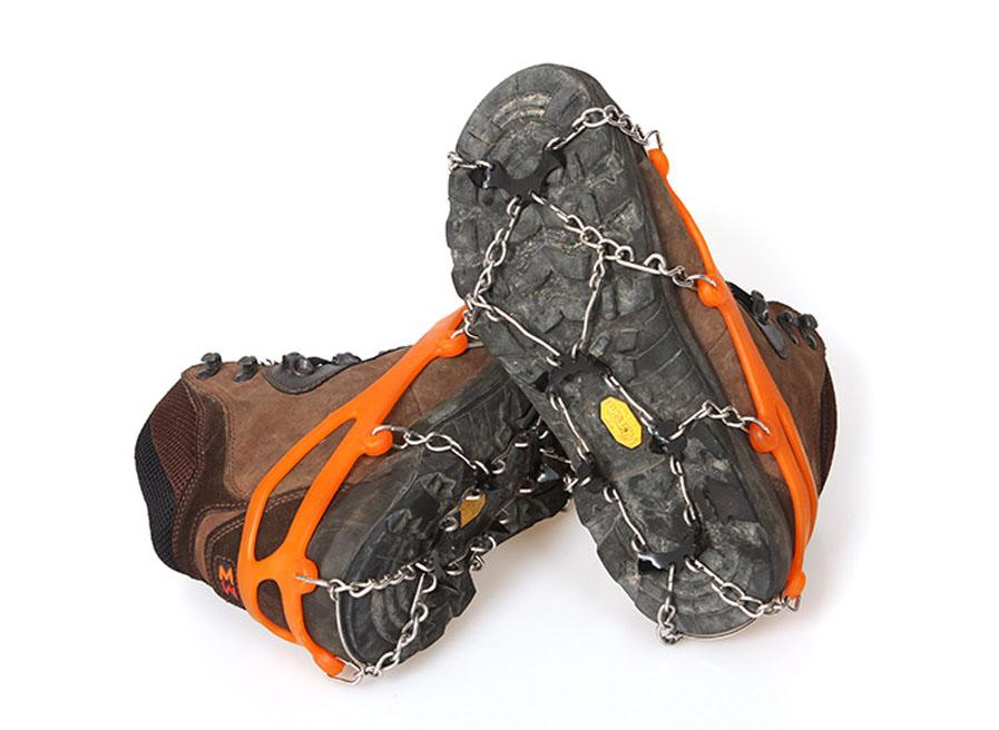 8-Stud Universal Ice Non-slip Snow Shoe Boot Spikes Grips Cleats Crampons Winter Climbing Anti-slip Shoes Cover