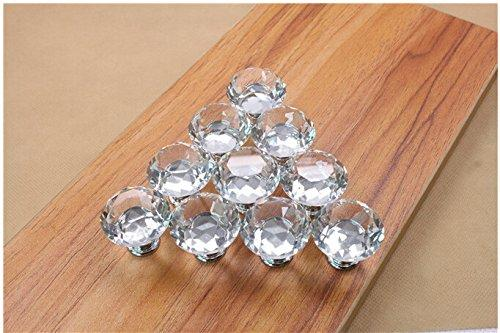 2017 Crystal Furniture Knobs Handle Drawer Pull With Screw, Silver And  Transparent From Kaka1987, $6.49 | Dhgate.Com