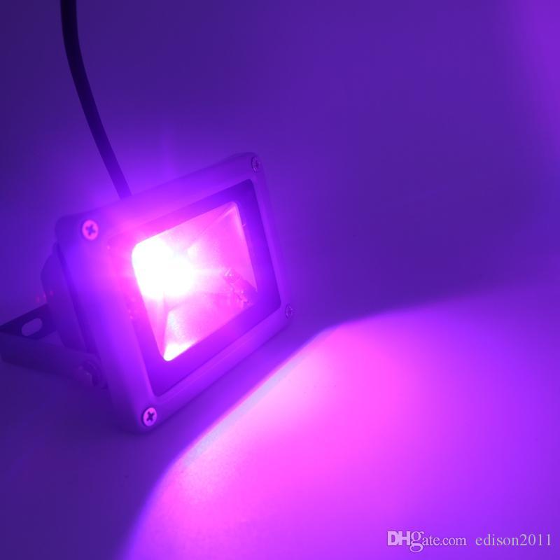 10W wasserdichte Flutlicht-Landschaftslampe RGB-LED-Flutlicht im Freien LED-Flut-Lampe / Freies Schiff