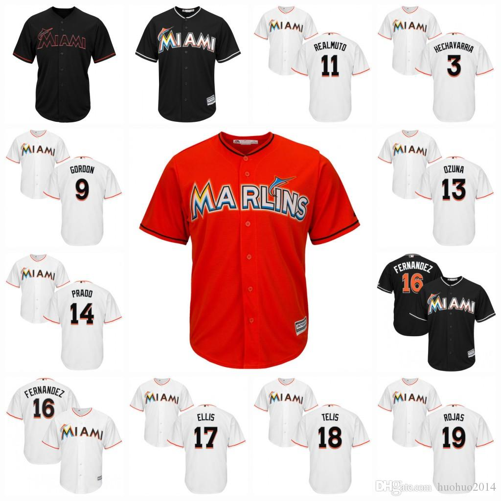 ce874864ed8 ... canada marlins authentic black alternate flex base jersey j.t. realmuto  hechavarria adeiny 11 jersey xl .