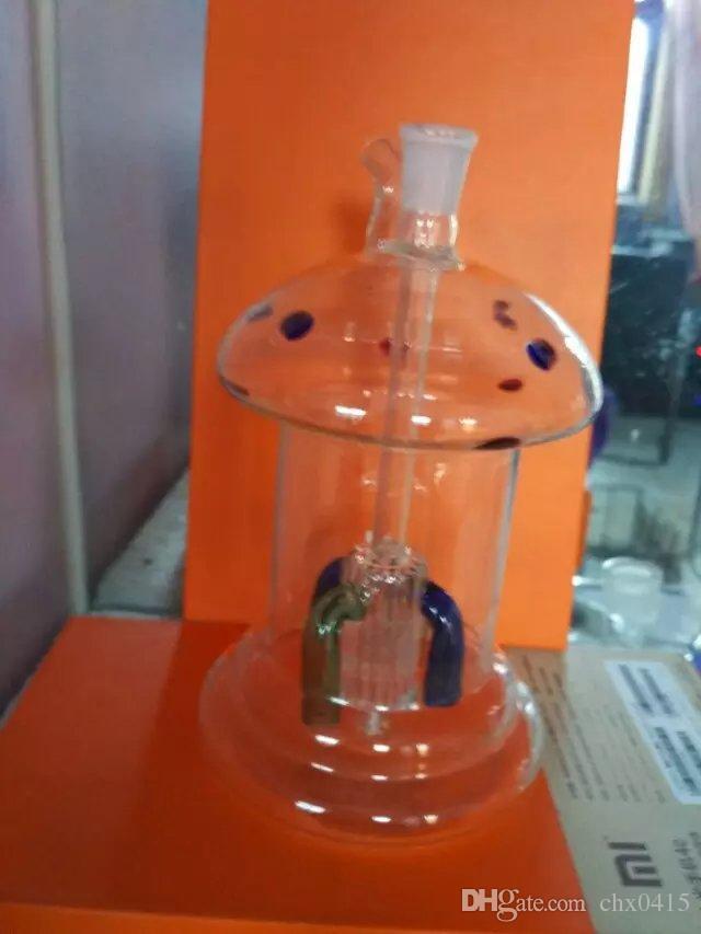 Точка застывания Гриб кальян бонги аксессуары , масляная горелка стеклянные трубы водопроводные трубы стеклянные трубы нефтяные вышки курение с капельницы стеклянные бонги доступ