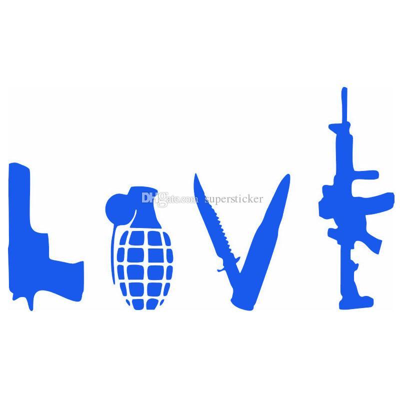 Satın Al Sıcak 13 22 Cm Soyut Aşk Sanat Kelime Tabanca Bombası