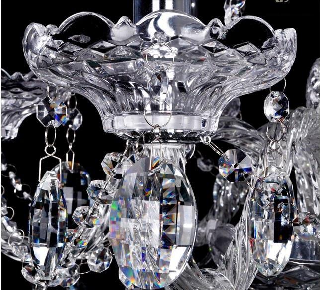 Crystal Light Chandelier Lighting lamps Fixture Modern Luxury Top
