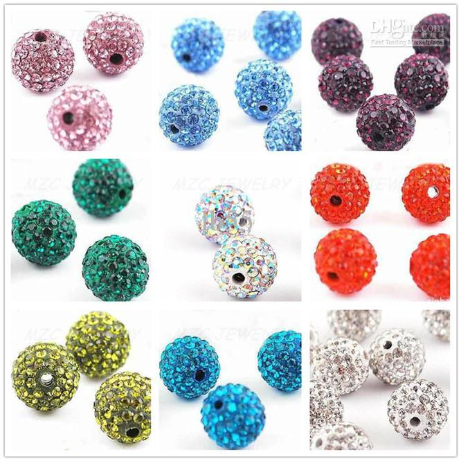 Beads & Jewelry Making Beads 8mm 100pcs High Quality Blue Crystal Clay Beads For Jewelry Making Necklace Bracelet Diy Beads Pave Disco Ball Beads Accessories Online Shop