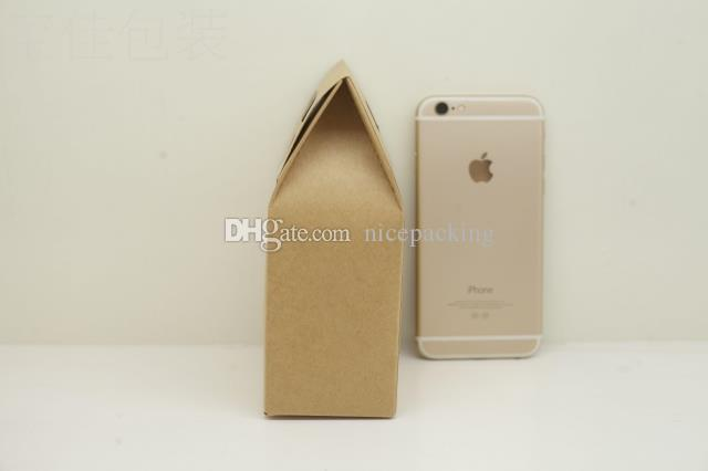 kraft paper bag/box with handle for tea/tea/cookie/candy gift packing bag/box for choice by DHL mini order