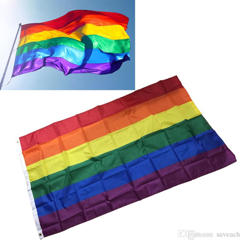 Rainbow Desktop Lesbian Gay Pride Colorful Decoration Flag Banners No Action & Toy Figures 4 Toy