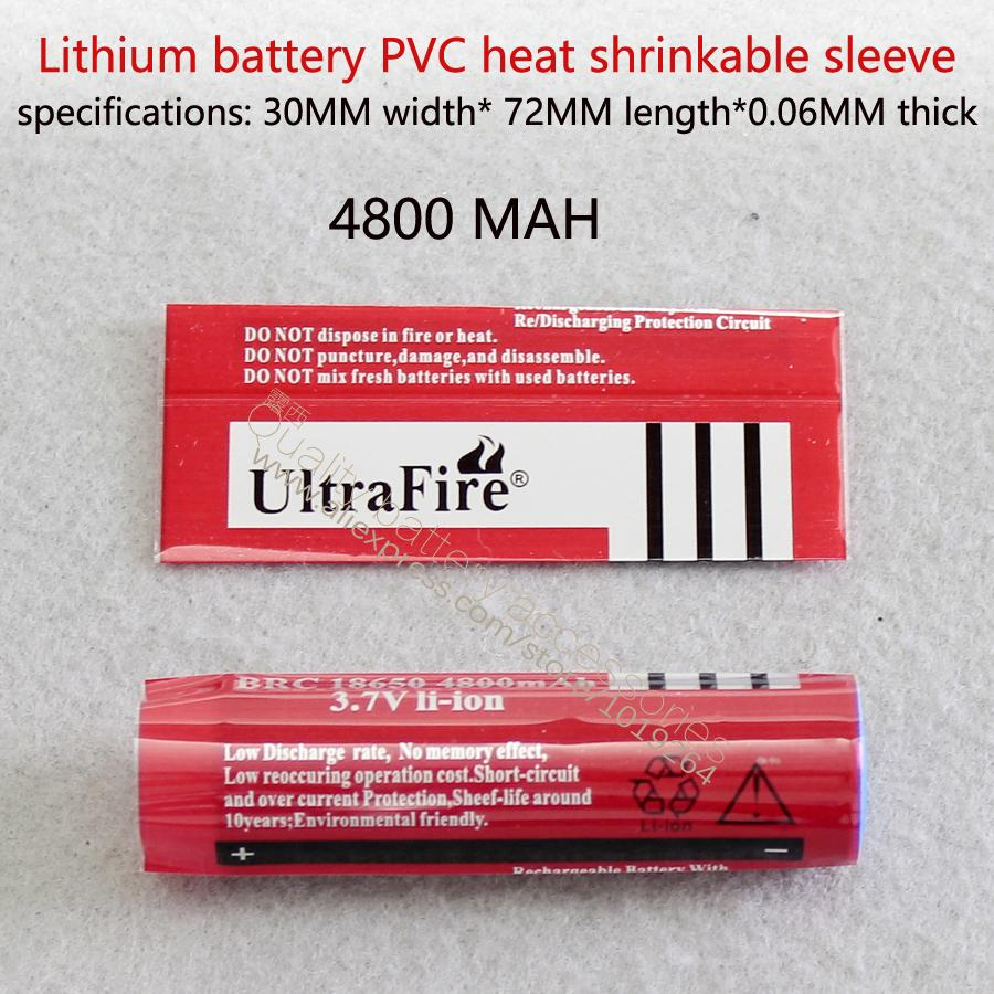 18650 Battery Shrink Sleeve Skin Cells Heat Shrinkable Casing Pvc Details About 3 X Case Box With Protection Circuit 37v Film 4800 Mah Capacity Online 187 Piece On Mid886s