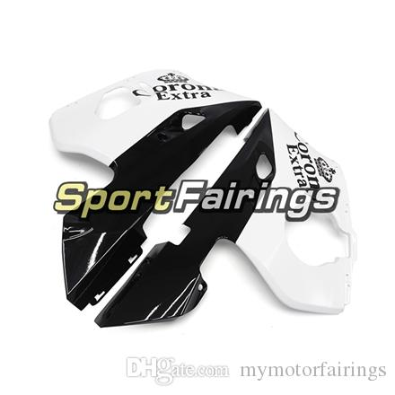 Fairings For Yamaha YZF600 R6 YZF-R6 98 - 02 1998 1999 2000 2001 2002 Injection ABS Plastics Motorcycle Fairing Kit Corona White Carenes