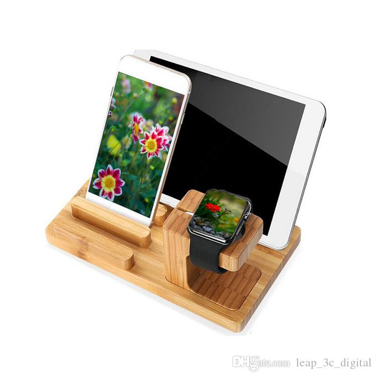 Creative Design Phone Holder For iPad iPhone Android Smart Watch Stander for Office Home Use Pen Holder