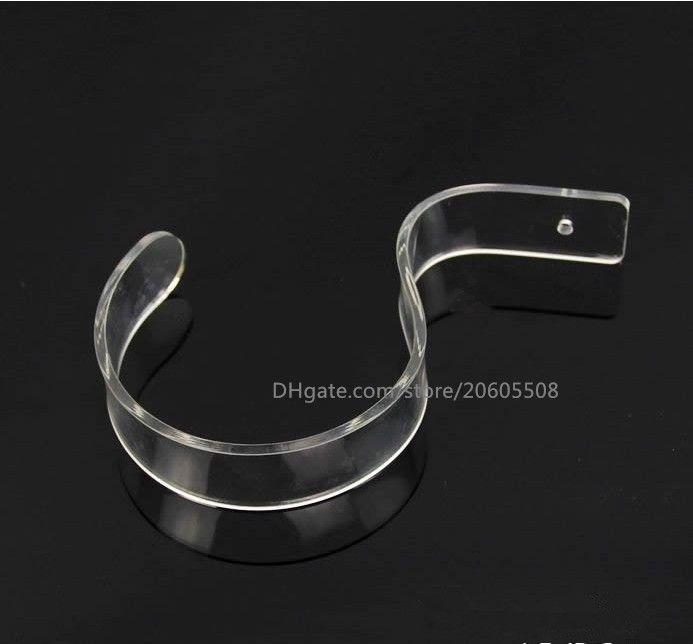 Hot sale fashion Boutiques display props Belt display rack S-type Acrylic Display Stand girdle holder desktop belt
