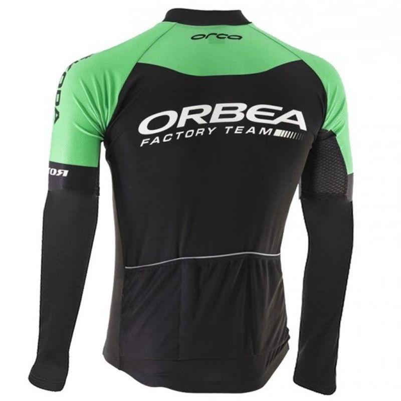 2017 winter fleece herren radtrikot mtb bike clothing orbea team radfahren clothing kit ropa ciclismo trikots kostenloser versand
