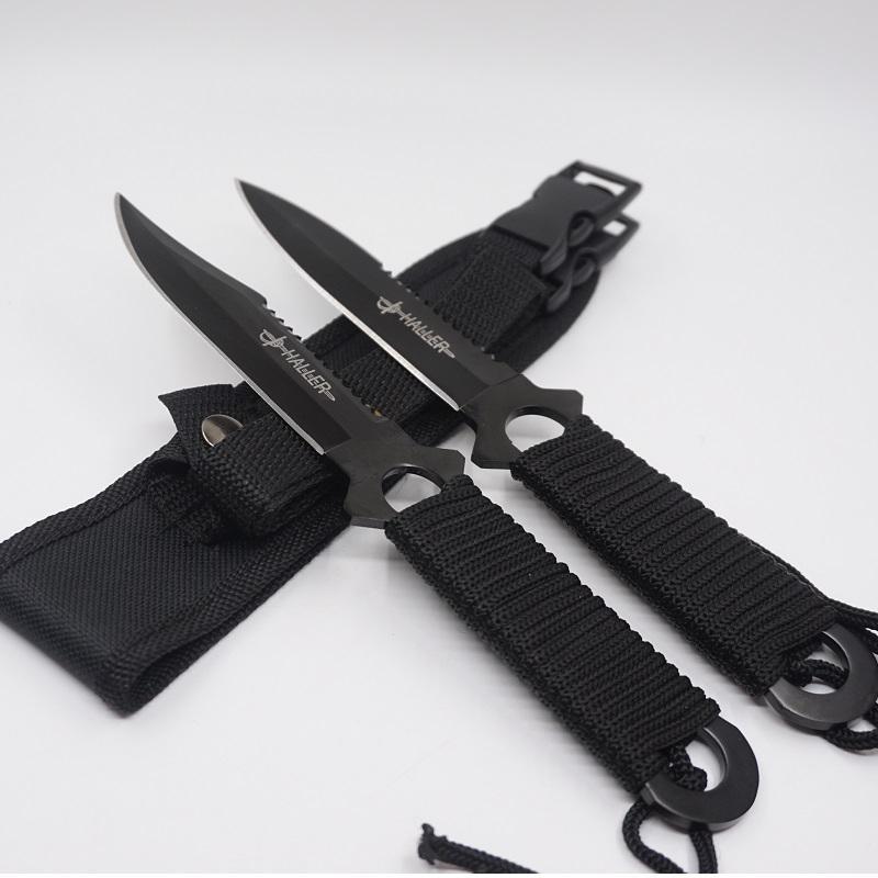 Heißer Verkauf Tauchen Messer Leggings Saber Edelstahl Klinge Feste Jagdmesser Taktische Camping EDC Werkzeuge Couteau Überleben Messer