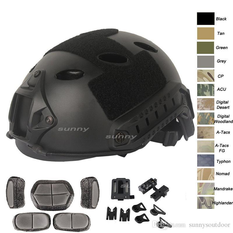 Einstellbare schnelle Helm Cover Schutzhelm Kopf schützen Getriebe Camping & Outdoor Mützen