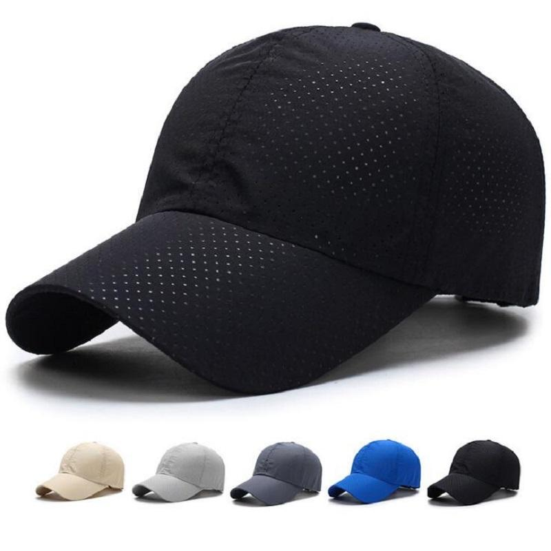 03ae567958a Wholesale Men Women 2017 Summer Snapback Quick Dry Mesh Baseball Cap ...