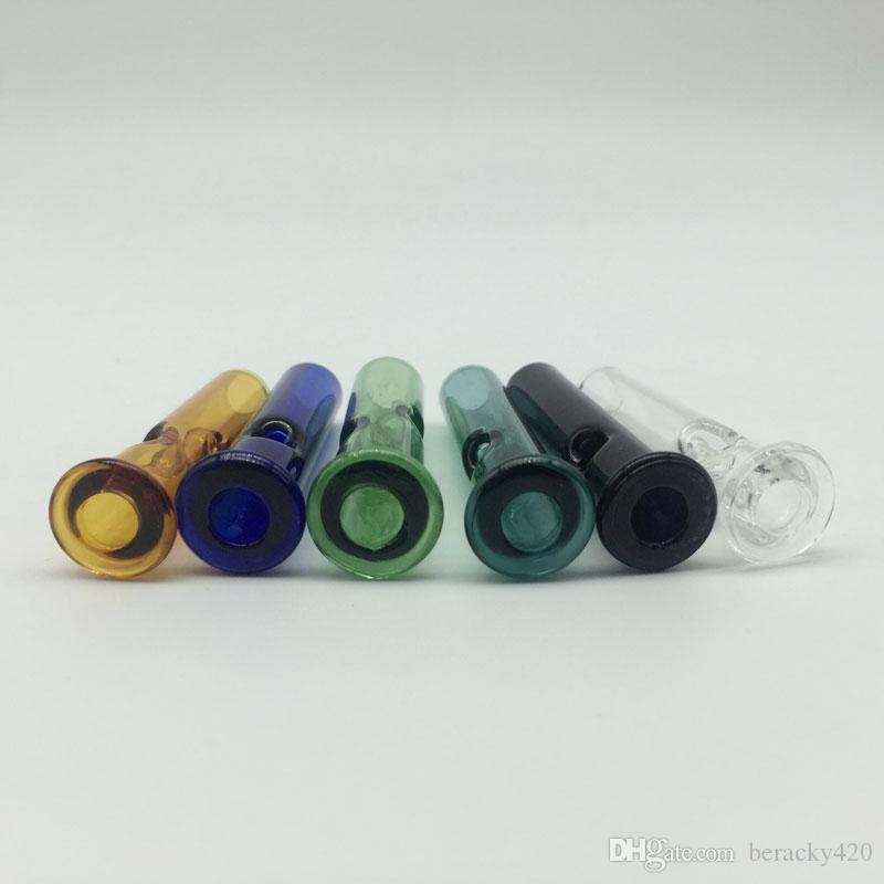 Pontas de filtro de vidro colorido para papéis secos do tabaco da erva seca do tabaco com monte de Cypress Pontas da sensação de vidro Phuncky com preço de grosso
