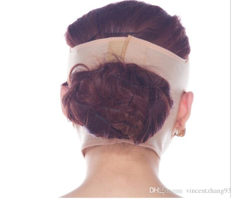 Тонкая маска для похудения лица Уход за кожей щек похудение V-образный подтяжка лица повязки тонкий маска анти-провисания красоты маска бесплатная доставка