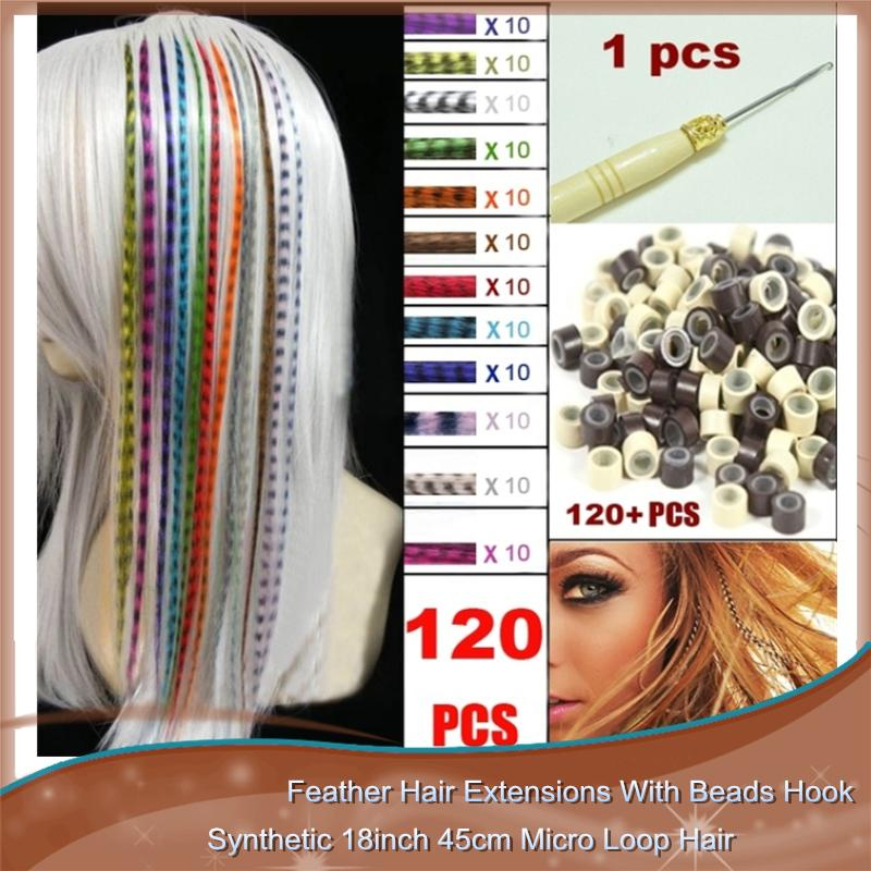 Wholesale feather hair extensions with beads hook long wholesale wholesale feather hair extensions with beads hook long wholesale loop grizzly solid zebra lines wholesale i tip hair extension hair extensions micro beads pmusecretfo Images