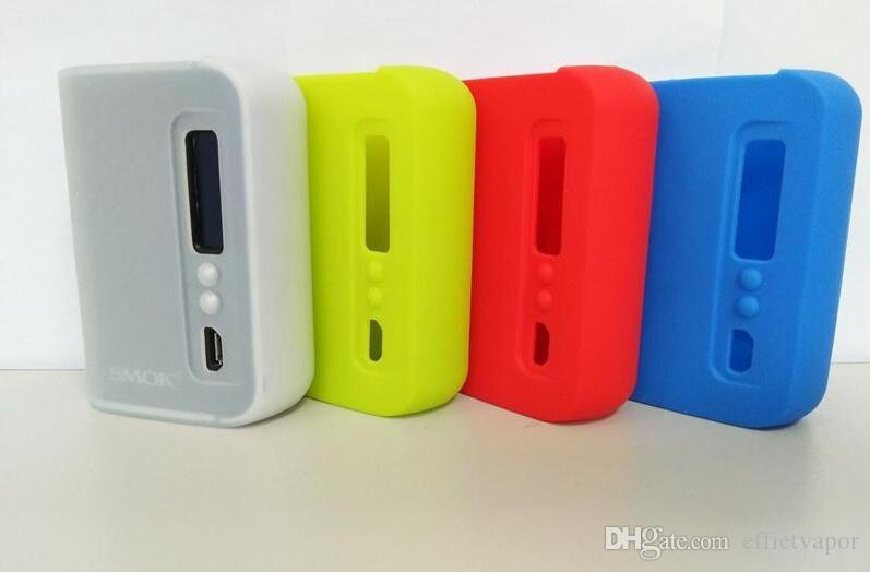High quality Silicone Case Silicon Cases Colorful Rubber Sleeve Protective Cover Skin For smok osub plus tc 80w box mod
