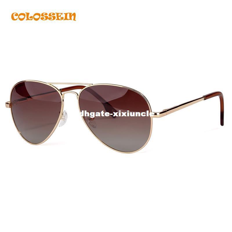 Clásico Moda Aviador Gafas de Sol Hombre Mujer de Conducción/Pesca Polarizadas Anti Reflectante -Protección 100% UVA & UVB ukDkL